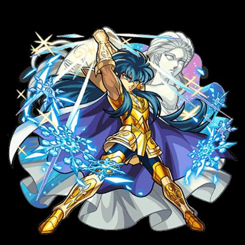 水瓶座の黄金聖闘士 カミュ